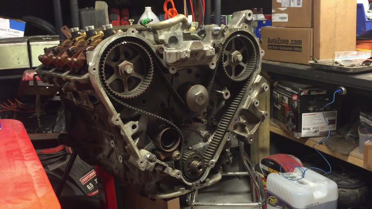 chrysler 3 5 engine rebuild part 1 youtube rh youtube com 2006 Dodge Charger 5.7 Engine Diagram 2005 Dodge Stratus SXT Engine Diagram