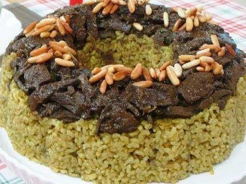 ارز بالكبدة - وصفة كاملة - منال العالم