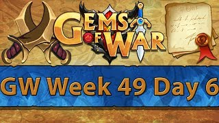 ⚔️ Gems of War Guild Wars | Week 49 Day 6 | Pan's Vale Events Next Week ⚔️