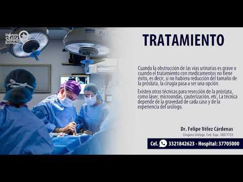 cirugía láser de próstata desior hospital