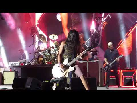 Foo Fighters  Monkey Wrench With KISS Guy Yayo Sanchez Fan From Crowd  41818
