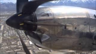 Embraer EMB-120 Brasilia Landing KSLC 032515
