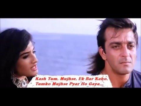 Kaas Tum Mujhse, Karaoke With Lyrics-Aatish,,