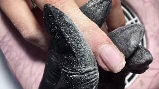 Как я наращиваю ногти /// Наращивание гелем // Наращивание ногтей на формах