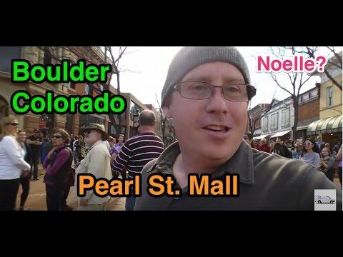 Van trip 11 - Boulder Colorado Pearl St Mall