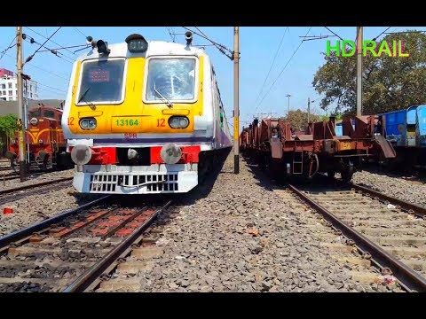 3 RUNNING TRAIN Near Ballygunge  & Sealdah  Railway Junction