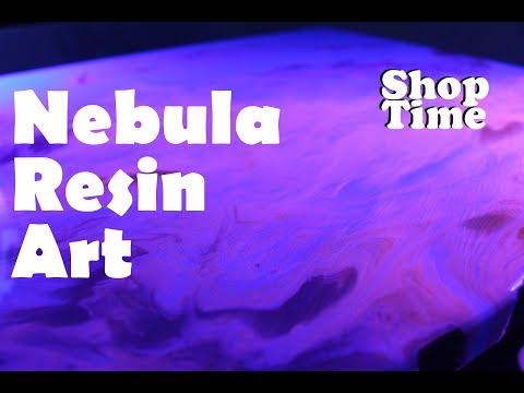 Nebula Resin Art