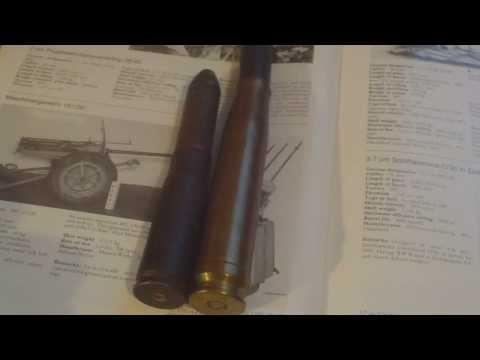 WORLD WAR TWO GERMAN 20MM LUFTWAFFE MG 151 AIRCRAFT CANNON ROUND