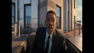Men in Black 3  - Time Jump Scene