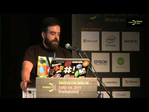 #droidconDE 2015: Giovanni Laquidara & Alessandro Mancini – Having fun with droidcon NFC/QR hunt on YouTube