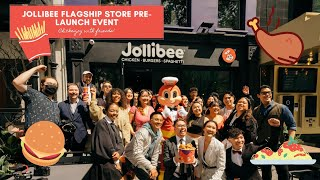 JOLLIBEE FLAGSHIP STORE PRE-LAUNCH EVENT (Leiceste...