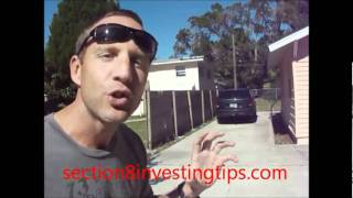 Section 8 Investing Tips (Fence)