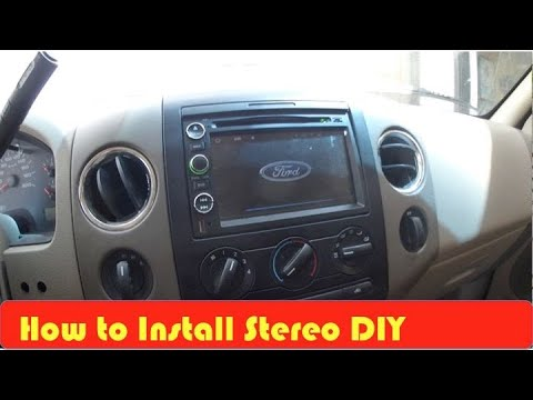 DiY Ford F150 Stereo Install 2004 2011