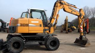 Mobile excavator Liebherr A309 year 2008