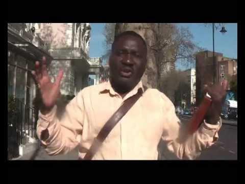 Europe, Brit-Ex, The wicked Land. Andy Lumeh Black Evangelist London SW7