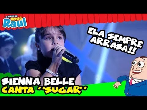 "Sienna Belle - ""Sugar - Maroon 5"" Programa Raul Gil"