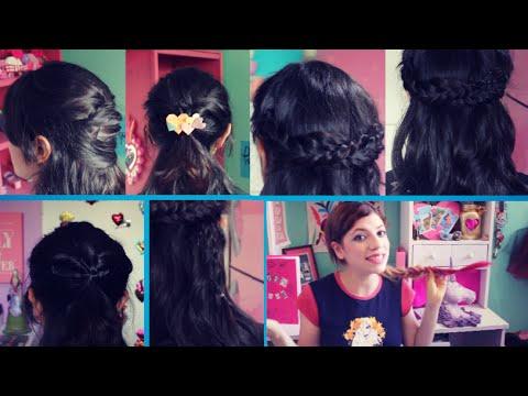 Peinados Para Cabello Corto Faciles Y Rapidos Hairstyles For Short