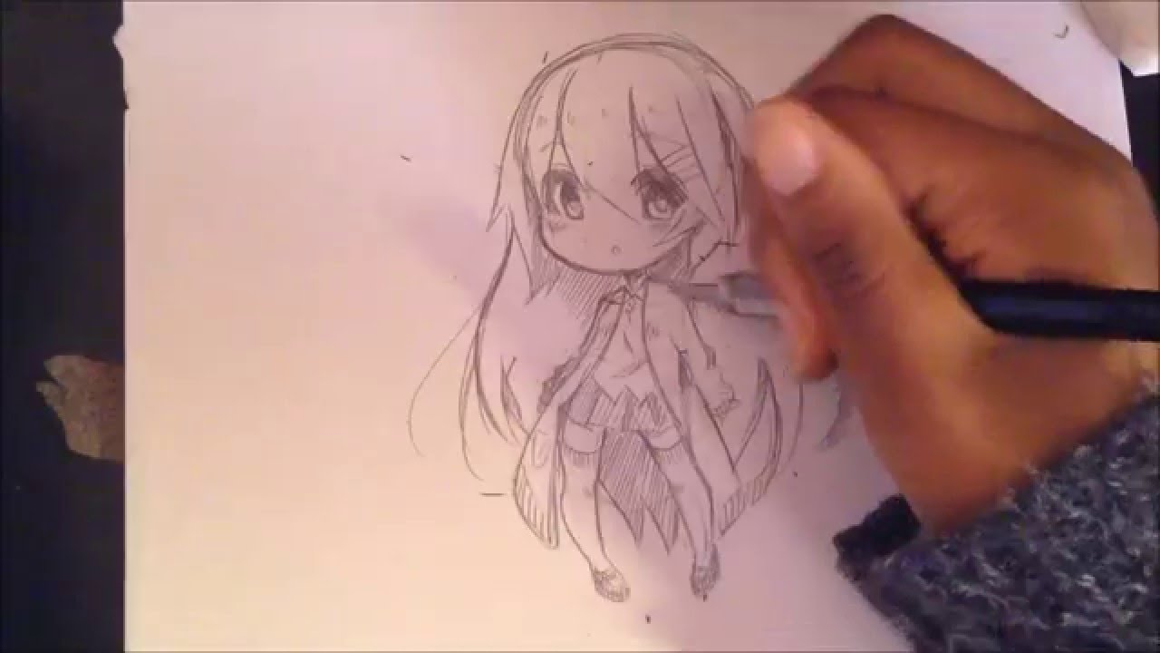 How to draw a chibi youtube