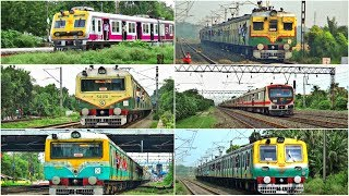 Types of colourful EMU trains operated by the Eastern Railway || Colourful EMU trains