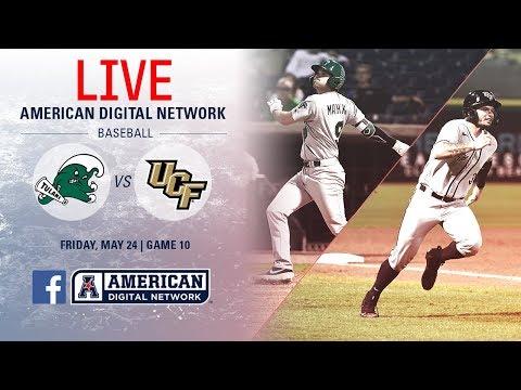 2019 American Baseball Championship: No. 3 Tulane vs. No. 6 UCF