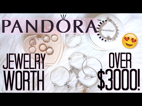 HUGE PANDORA HAUL! Jewelry Collection Worth $3000!