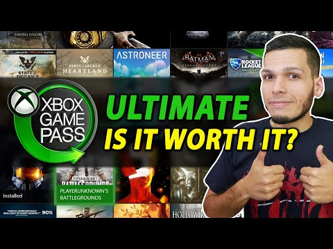 XBOX GAME PASS Ultimate: Is It Worth It?? (Gameplay + Features)