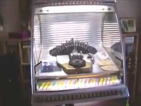 Our Rock-Ola 1448 jukebox (1955) (video by request of Mikko Toivola)