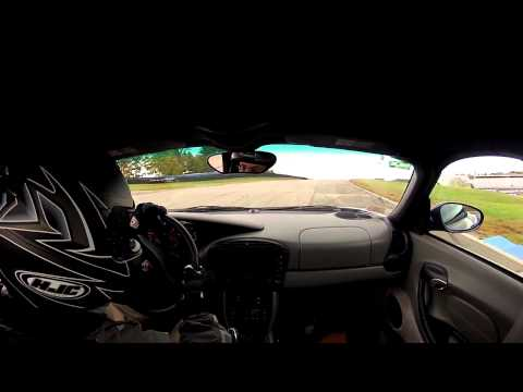 NHIS Track Day: Porsche Boxster chasing 911's - First run of the day