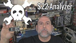 $22 Logic Analyzer Using Lattice iCEStick