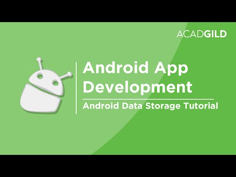 Android Data Storage Tutorial | Types of Data Storage in Android | Android Training
