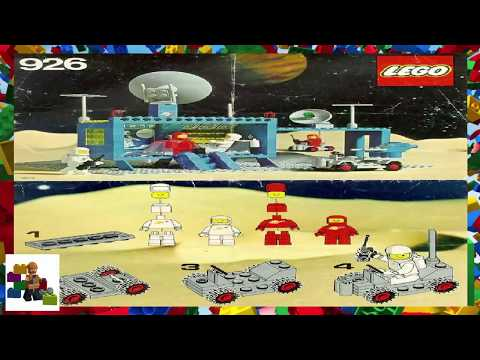 LEGO instructions - Space - Classic - 926 - Command Centre