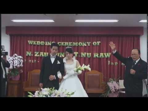 Kachin Wedding Nhkum Zau Gun & Tangbau Nu Raw,TKBC
