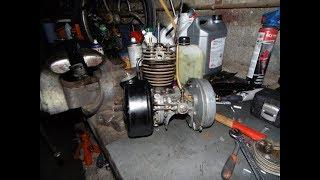Solex 1400 : Remontage du moteur.