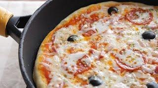 Pizza sin Horno Rápida y Sencilla