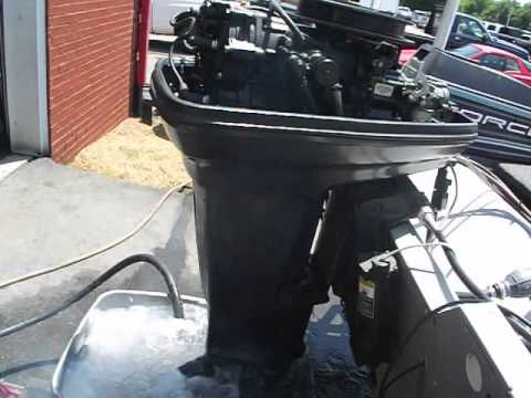 Force 50 Outboard Running After Carb Overhaul 4 15 14