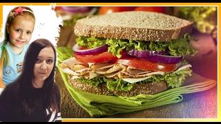 Вкуснейший рецепт Сендвич-стейк.Семейный ужин Уфа. Сковорода iQuick  // How To Make A Sandwich 2017