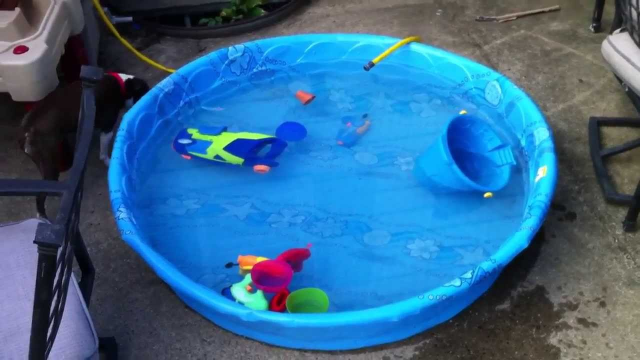 How To Empty A Kid S Pool Youtube