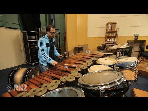 APO's Eric Renick performs Rautavaara's percussion concerto