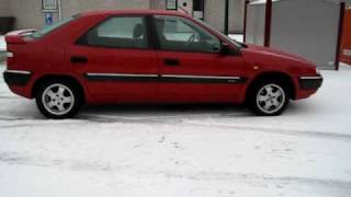 Citroen Xantia warm start and rising up to normal position.