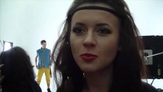 Бой без правил - Сара Окс и Иван Кит (съёмки клипа)!!!