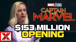 Brie Larson's Captain Marvel Hits $153 Million Opening Weekend, How It Happened & What It Could Mean