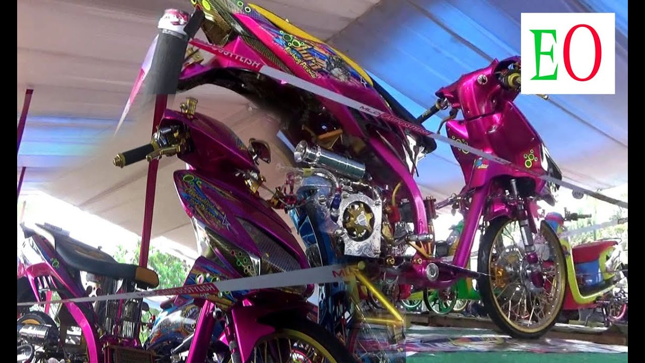 Nih Kerenya Honda Vario Techno Street Racing YouTube