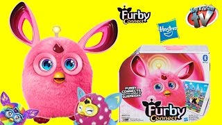 Furby Connect Unboxing, Demo Play & Funny Toy Review by Hasbro