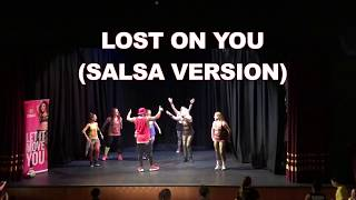 Lost On You - Cubaneros (Salsa Version) *Zumba® Choreo