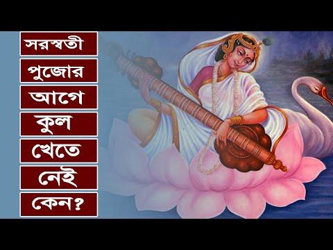 সরস্বতী পূজার আগে কুল খাওয়া হয় না কেন?  Saraswati Puja and Kul Khawa