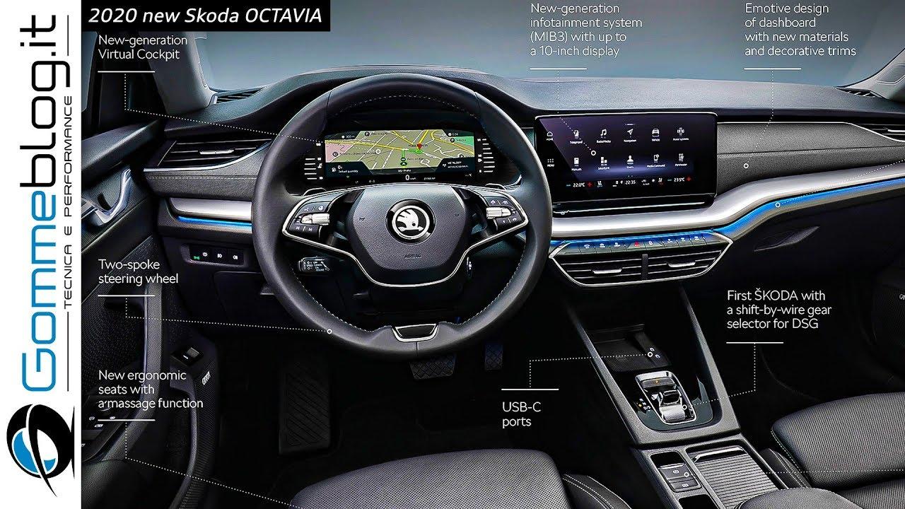 2020 Skoda Octavia New High Tech Interior And Exterior Design Youtube