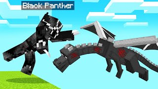 Playing As BLACK PANTHER In MINECRAFT! (Superhero)