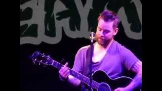 "David Cook - ""Fade Into Me/Time of My Life"" - The Hamilton Live - 5/3/14"