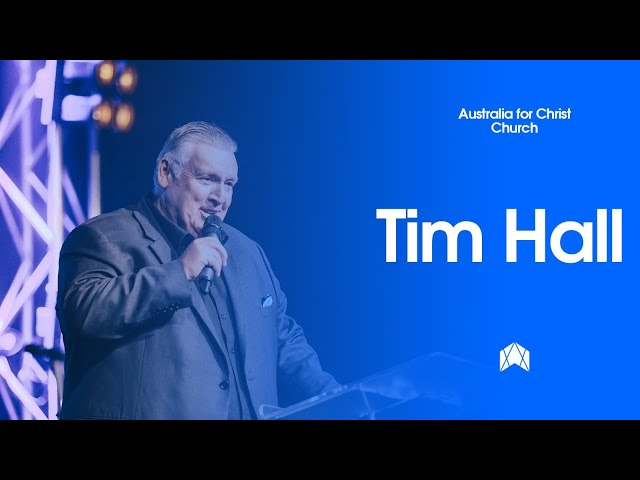 PS TIM HALL - SUNDAY 3 MAY - CHURCH ONLINE