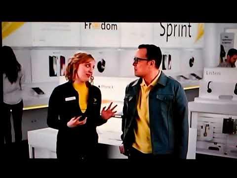 Sprint commercial girl